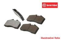 Brembo sportovní desky přední SAAB 9-3 -- 2.0i 16V Turbo (113/136/147 kW) - rok výroby 98->