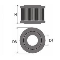 Sportovní filtr Green SAAB 9,5 2,2L i T i D  výkon 88kW (120hp) typ motoru X22DTH rok výroby 02-