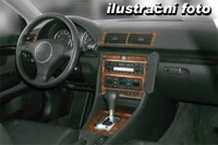 Decor interiéru Saab 9000 -manuál. převodovka rok výroby od 06.97 -9 dílů přístrojova deska/ středová konsola